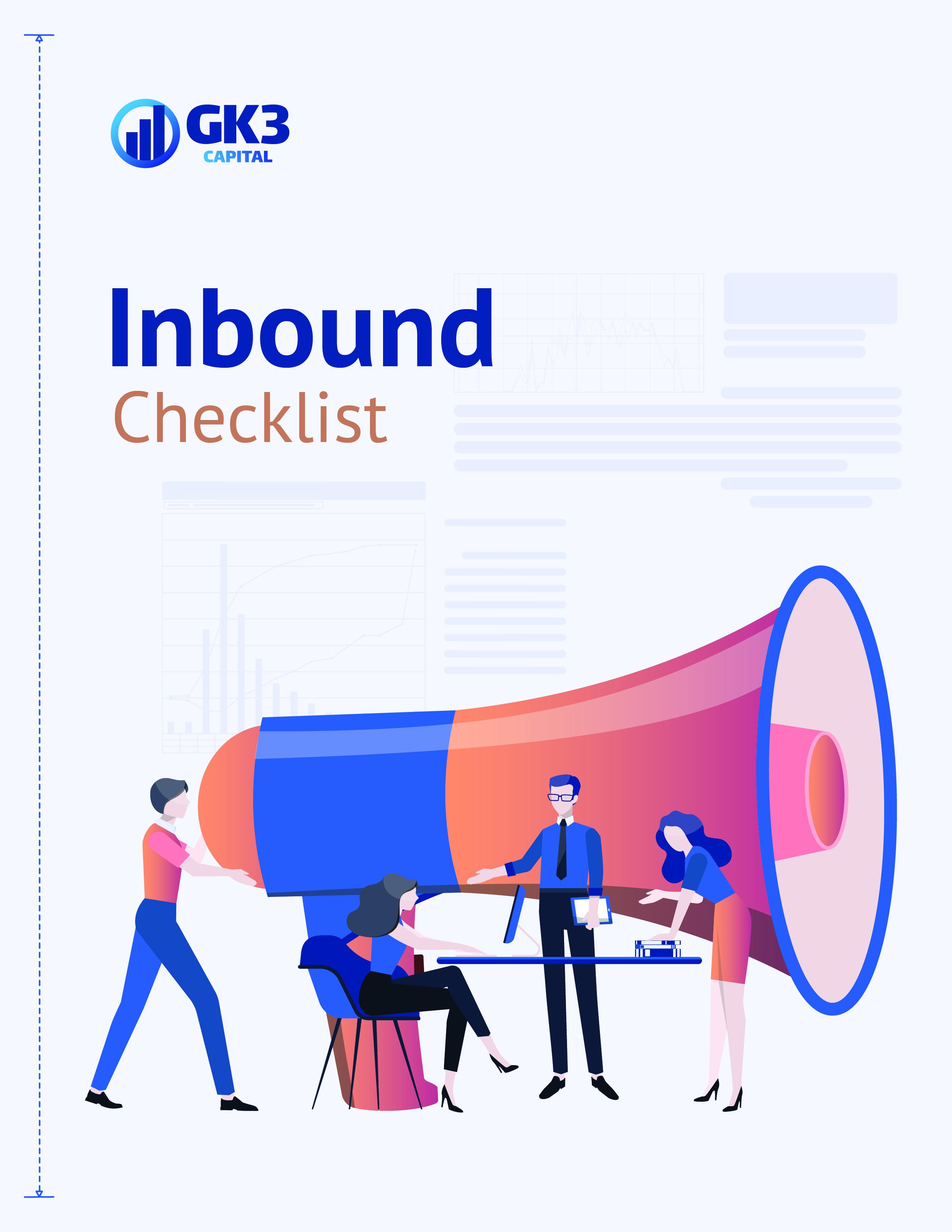 Inbound Checklist Cover